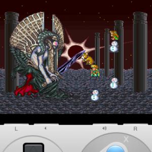 iPhoneでロマサガ サルーイン戦