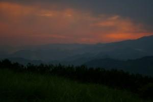 静岡市清水区山原からの夜景