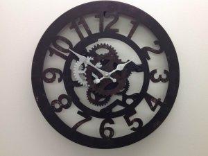 スチームパンク的壁時計