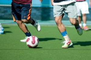 スポーツDVDでサッカーを学ぶ